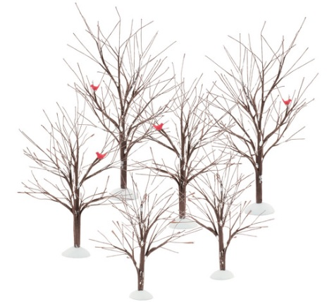 "Department 56 Village Accessory -  ""Village Bare Branch Trees"""
