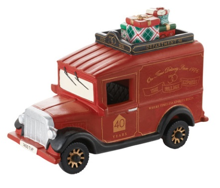 "Department 56 Village Accessory - ""Village Express Van - 40th Anniversary"""
