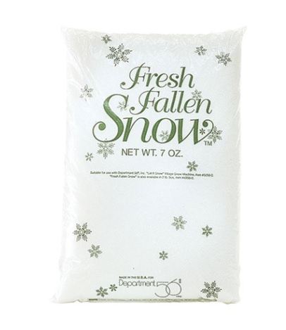 "Department 56 Villagge Accessory - ""Village Fresh Fallen Snow"""