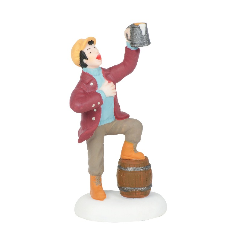 "Department 56 Dickens Village Accessory- ""Cheers!"" 2018"