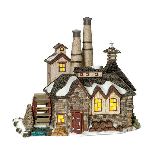 "Department 56 Dickens' Village - ""London Gin Distillery"""