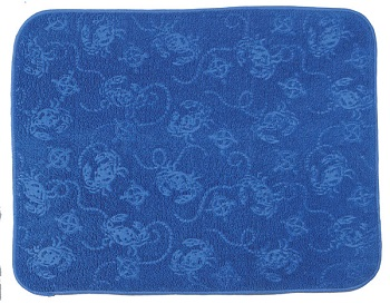 "Dish Mat - ""Blue Crab Drying Mat"""
