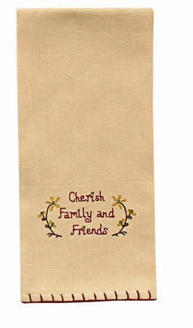"Dish Towel - ""Cherish Family Dish Towel"""