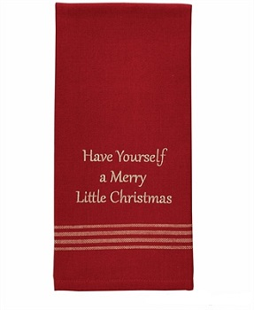 "Dish Towel - ""Have Yourself A Merry Little Christmas Dish Towel"""