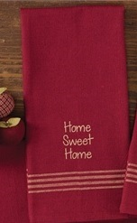 "Dish Towel - ""Home Sweet Home...Dish Towel"""