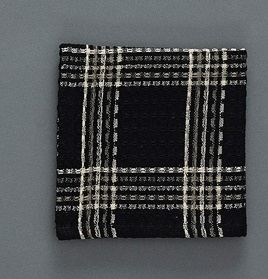 "Dishcloth - ""Black Coffee Dishcloth"""