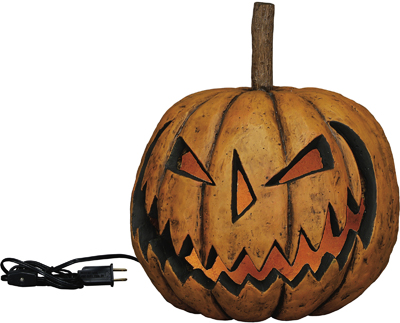 "Electric Light - ""Lighted Sinister Pumpkin"""