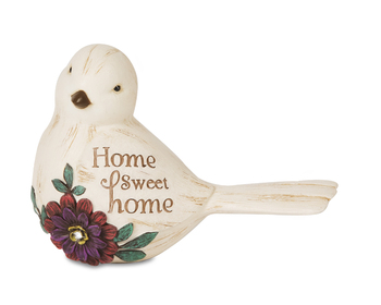 "Elements Collection - ""Home Sweet Home Bird Figurine"""