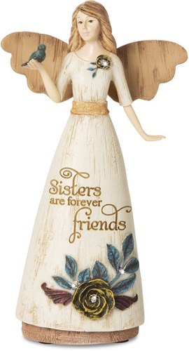 Elements Angel - Sisters are Forever Friends - Blue Bird - 6 Inch