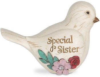 "Elements Collection - ""Special Sister Bird Figurine"""