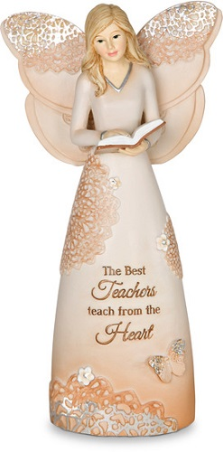 Elements Angel - The Best Teachers Teach from the Heart - 6 Inch