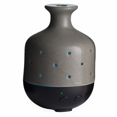 Essential Oil Diffuser - Gray Stone - Therapeutic Grade Aromatherapy