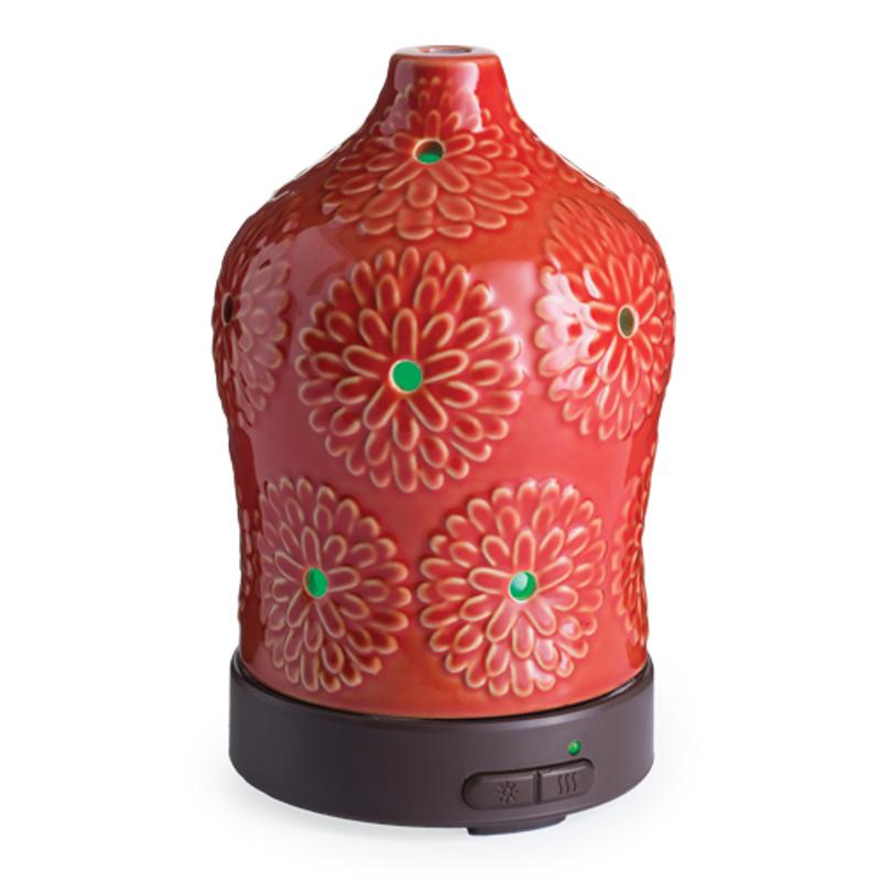 Essential Oil Diffuser - Red Lotus - Therapeutic Grade Aromatherapy