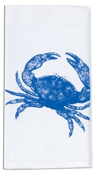 "Flour Sack Towel -  ""Crab"""