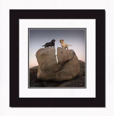 Framed Picture - Rock Candy - 16x17 - Ron Schmidt