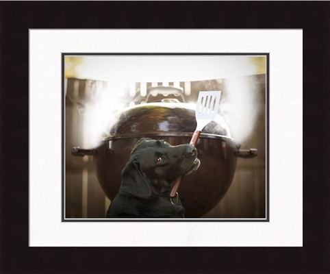 Framed Picture - Smokey - 16x20 - Ron Schmidt