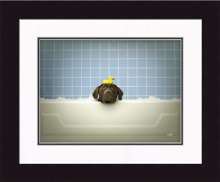 "Framed Picture - ""Stinky"" - 16in x 20in - Artist Ron Schmidt"