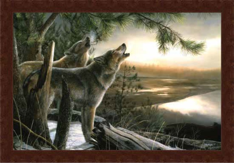 "Framed Print - ""Call of the Wild"" - 33in x 22in - Artist Kevin Daniel"