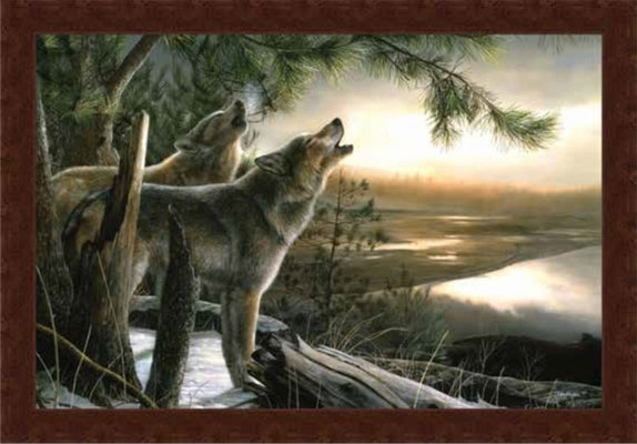 Framed Print - Call of the Wild - 33x22 - Kevin Daniel