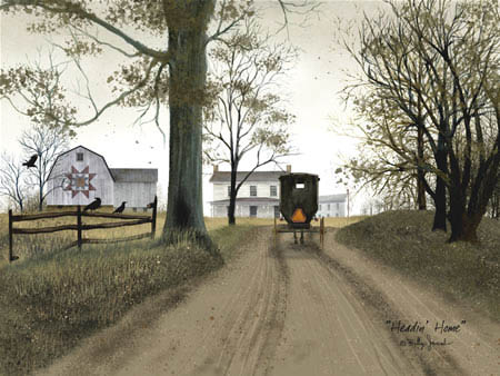 "Framed Print  -  ""Heading Home"" - Artist Billy Jacobs"