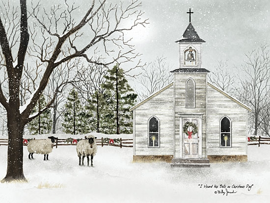 Framed Print - Bells on Christmas Day - 18x24 - Billy Jacobs