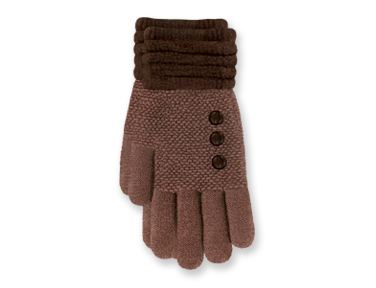 "Gloves - ""Ultra Soft Gloves - Brown"""