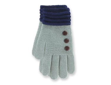 "Gloves - ""Ultra Soft Gloves - Grey"""