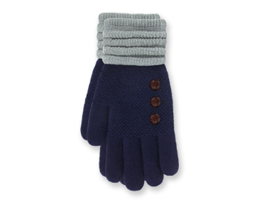 "Gloves - ""Ultra Soft Gloves - Navy"""