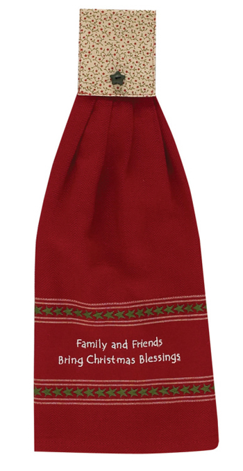 "Hand Towel - ""Christmas Hand Towel"""