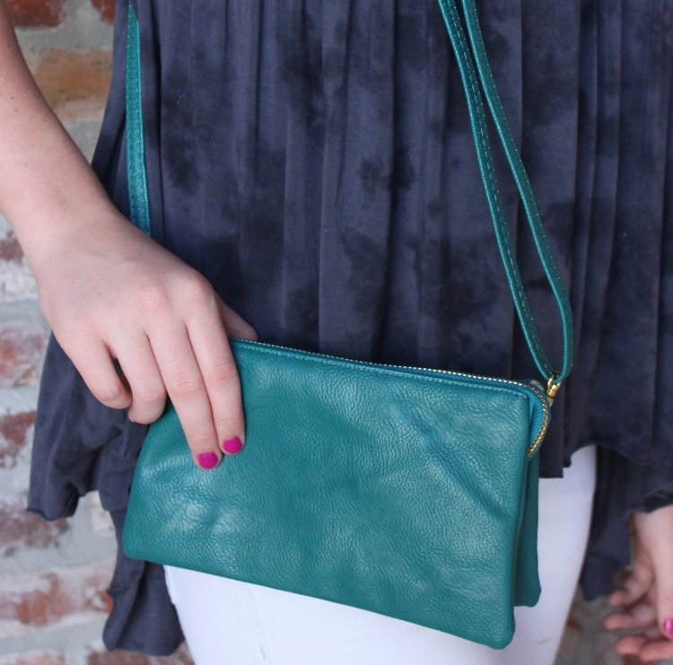 The C.T. Hill Crossbody Purse - Turquoise