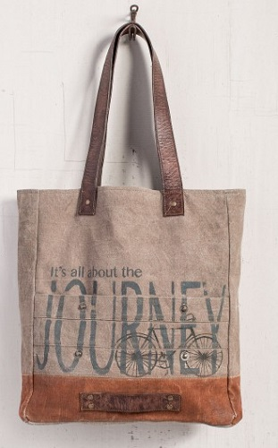 "Handbag - ""Mona B - All About The Journey Tote Bag"""
