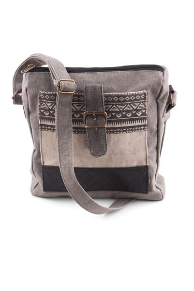 "Handbag - ""Mona B - Aztec Crossbody Bag"""