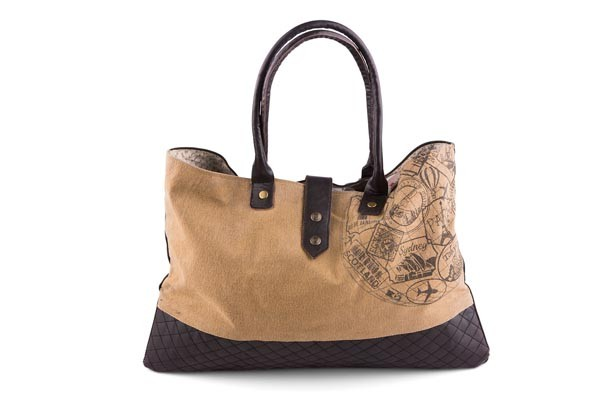 "Handbag - ""Mona B - Globe Shoulder Bag"""