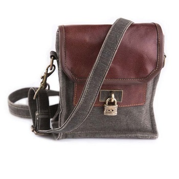 "Handbag - ""Mona B - Locksmith Crossbody Bag"""