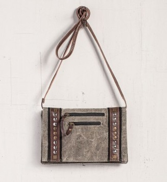 "Handbag - ""Mona B - Melrose Crossbody Bag"""