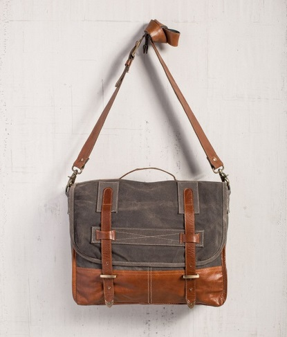 "Handbag - ""Mona B - Soho Messenger Bag"""