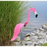 Hot Pink Flamingo Dancing Bird® - Decorative Garden Stake