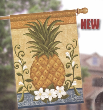 "House Flag  - ""Colonial Pineapple House Flag"""