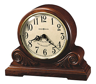 "Howard Miller Mantel Clock - ""Desiree"""
