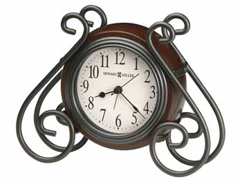 "Howard Miller Table Top Clock - ""Diane"""