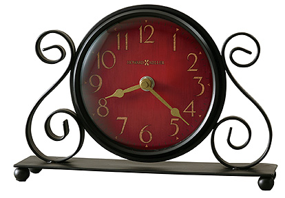 "Howard Miller Table Top Clock  - ""Marissa"""