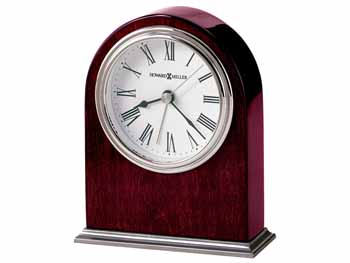 "Howard Miller Table Top  Clock  - ""Walker""  - Alarm"