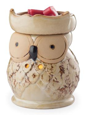 "Illumination Fragrance Warmer  - ""Owl Fragrance Warmer"""