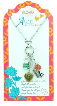 "Jilzarah Necklace - ""People We Love Necklaces - Aunt"""