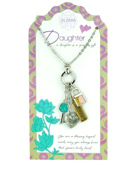 "Jilzarah Necklace - ""People We Love Necklaces - Daughter"""