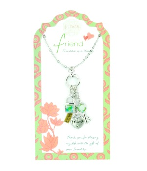"Jilzarah Necklace - ""People We Love Necklaces - Friend"""