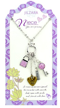 "Jilzarah Necklace - ""People We Love Necklaces - Niece"""