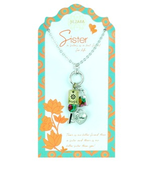 "Jilzarah Necklace - ""People We Love Necklaces - Sister"""