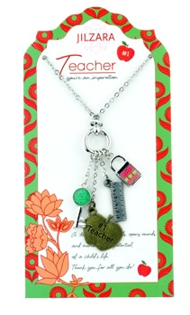 "Jilzarah Necklace - ""People We Love Necklaces -Teacher"""
