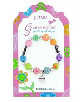 "Jilzarah� Girls Bracelet - ""Granddaughter"""